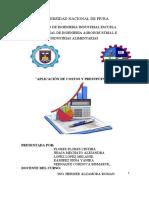La Dominga Costos y Presupuestos (1)
