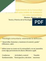 El Fortalecimiento de la Comunidad (1)