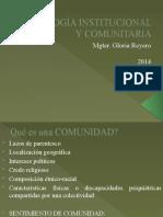 PSICOLOGÍA INSTITUCIONAL Y COMUNITARIA (1)