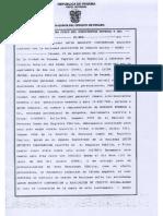 Escritura pública sobre cesión de derechos políticos a la empresa Acres