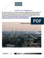Challenge of UN Gaza Report