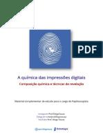 A química das impressões digitais