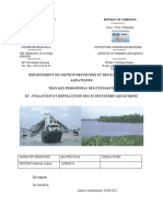 Pollution Et Dépollution Des Écosystèmes Aquatiques