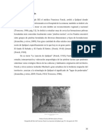 Arqueología del paisaje como Palimpsesto, Sebastian Tejada