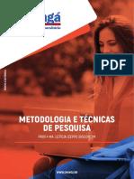 Metodologia e Técnicas de Pesquisa - EAD
