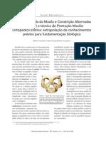 Expansão Rápida da Maxila e Constrição alternadas ERMC-Alt e técnica de Protração Maxilar Ortopédica Efetiva extrapolação de conhecimentos prévios para fundamentação biológica