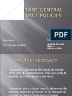 Important General Insurance Policies,Mba1st,2028