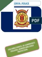 kenya Community Policing