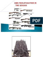 Small Arms Proliferation Within the Region in east africa