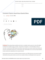 Crescimento e Progresso, artigo de Marcus Eduardo de Oliveira - EcoDebate
