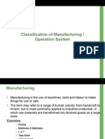 2. Manufacturing Systems - Schemmer Matrix