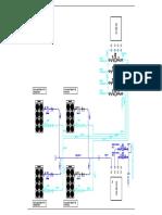 SCHEMATIC SYSTEM CHILLER PLANT 3 (MERO)-Model