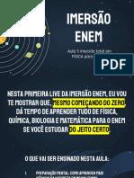 IMERSÃO ENEM - PDF DA AULA 1