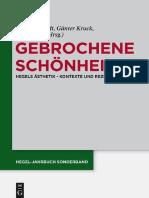 ARNDT & KRUCK & ZOVKO - Gebrochene Schönheit Hegels Ästhetik