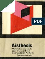 karlheinz-barck-aisthesis-wahrnehmung-heute-oder-perspektiven-einer-anderen-asthetik
