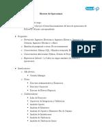 Descriptor Director de Operaciones Colombia