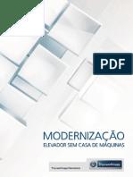 121 Modernizacao de Elevadores Sem Casa de Maquinas