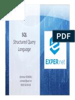 Administration SQL Serveur