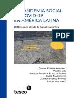 La Pandemia Social de Covid-19 en América Latina. Reflexiones desde la Salud Colectiva