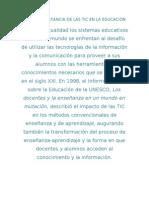 LA IMPORTANCIA DE LAS TIC EN LA EDUCACION 11
