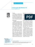 O aparelho de Protração Mandibular IV