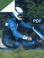 BMW K1100RS Vergleichstest mit Yamaha GTS1000A MOTORRAD 06/1993