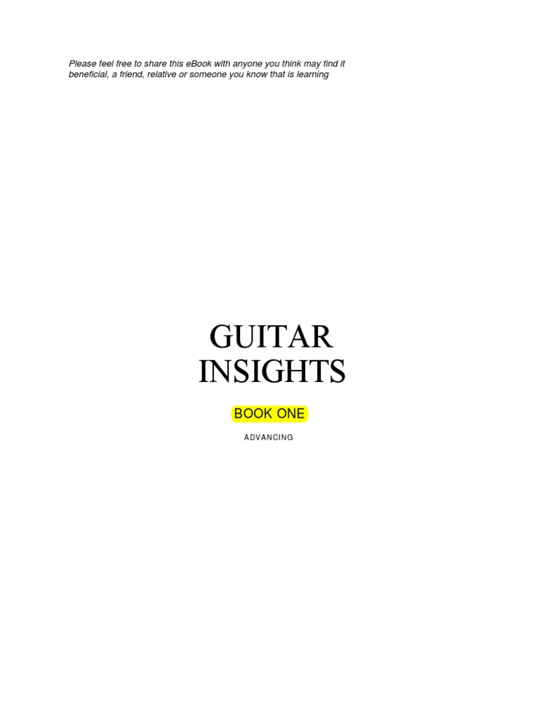 Guitarinsights Mode Music Minor Scale