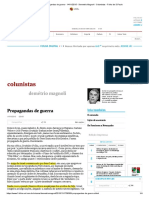 Propagandas de guerra - 14_11_2015 - Demetrio Magnoli - Colunistas - Folha de S.Paulo