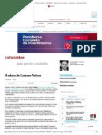 O adeus de Caetano Veloso - 10_11_2015 - João Pereira Coutinho - Colunistas - Folha de S.Paulo