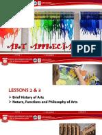 Art App Prelim Lessons 2 3