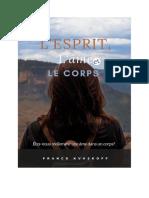 Franck Kvaskoff - L'esprit, l'âme, et le corps, 31p