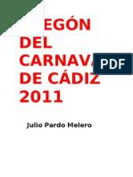 PREGÓN DEL CARNAVAL DE CÁDIZ 2011