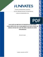 MODELO DE PLANEJAMENTO DE CURTO PRAZO (PPC)