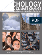 APA - Psychology of Global Climate Change
