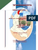 MANUAL DE ADMINISTRACION DE MEDICAMENTOS
