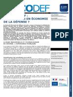 Economia de la Defensa - Frances - ECODEF