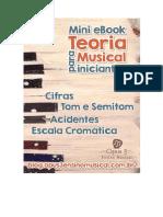 Mini eBook Gratuito Teoria Musical Para Iniciantes