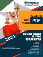 Prodotti di sanificazione e manutenzione catalogo
