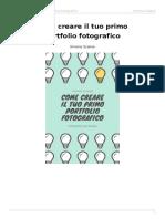 come creare il tuo primo portfolio