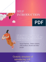 Self Introduction PPT