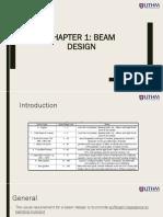 1 Beam Design