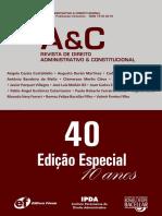 Acao Direta de Constitucionalidade - CLEMERSON MERLIN CLEVE