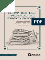 El Campo Disciplinar y Profesional COMPLETO