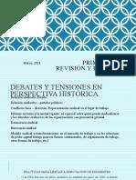 03_21 Teórico II- Unidad 1_ Las centrales sindicales y sus estrategias