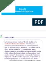 2  NOTION DE BASE LOGISTIQUE