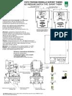 Istruzioni Exportherm Tutti 1 e Due Aria Acqua High Pressure132016