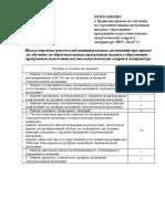 Шкала перевода показателей индивидуальных достижений при приеме на обучение в аспирантуру