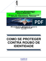 Como se Proteger Contra Roubo de Identidade (How to Protect Yourself from Identity Theft)