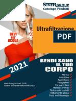 Ultrafiltrazione catalogo