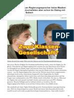 warum Regierungssprecher keine Masken tragen müssen Journalisten aber schon Im Dialog